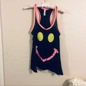 Happy face tank top. Juniors L